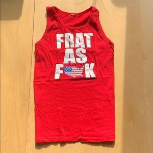 Frat as F__K Tank Top